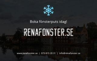 Fönsterputs Eskilstuna Vinter