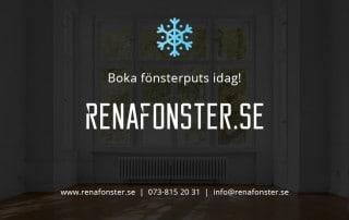 Fönsterputs Köping Vinter