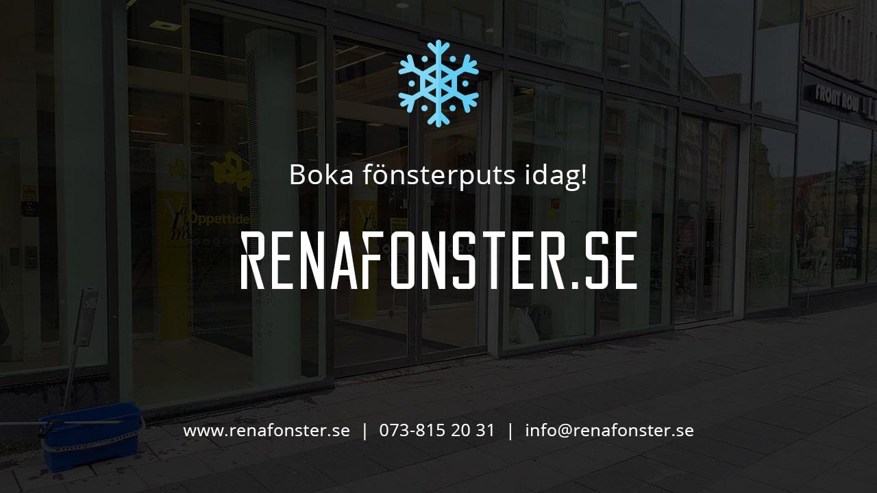 Fönsterputs Västerås Vinter Minusgrader