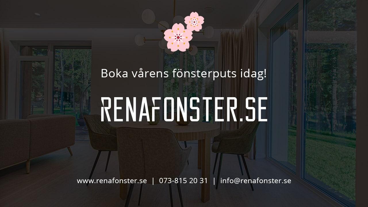 Fönsterputs Västerås